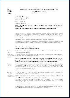 Form SPA - Application for divorce (with consent of other party) minimum  12 months non-cohabitation