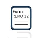 Form REMO 12