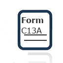 Form C13A