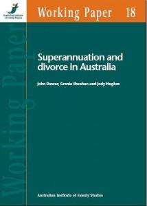 Superannuation and Divorce in Australia